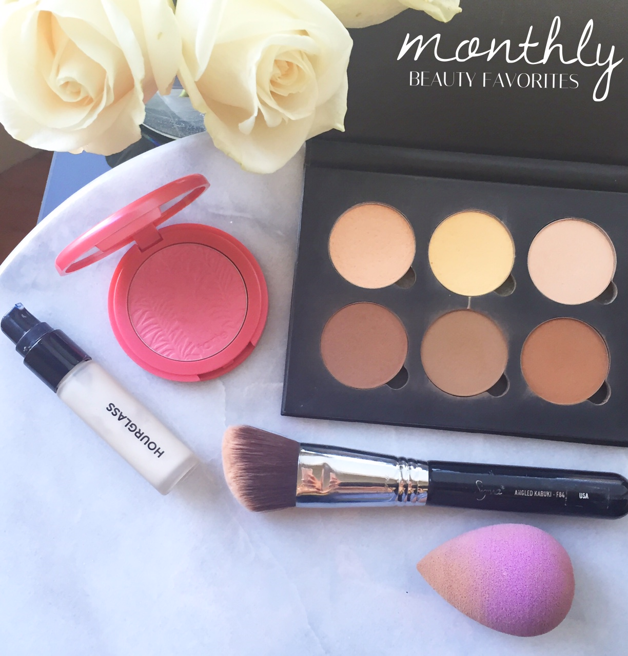Monthly Beauty Favorites | http://thefourthreads.com