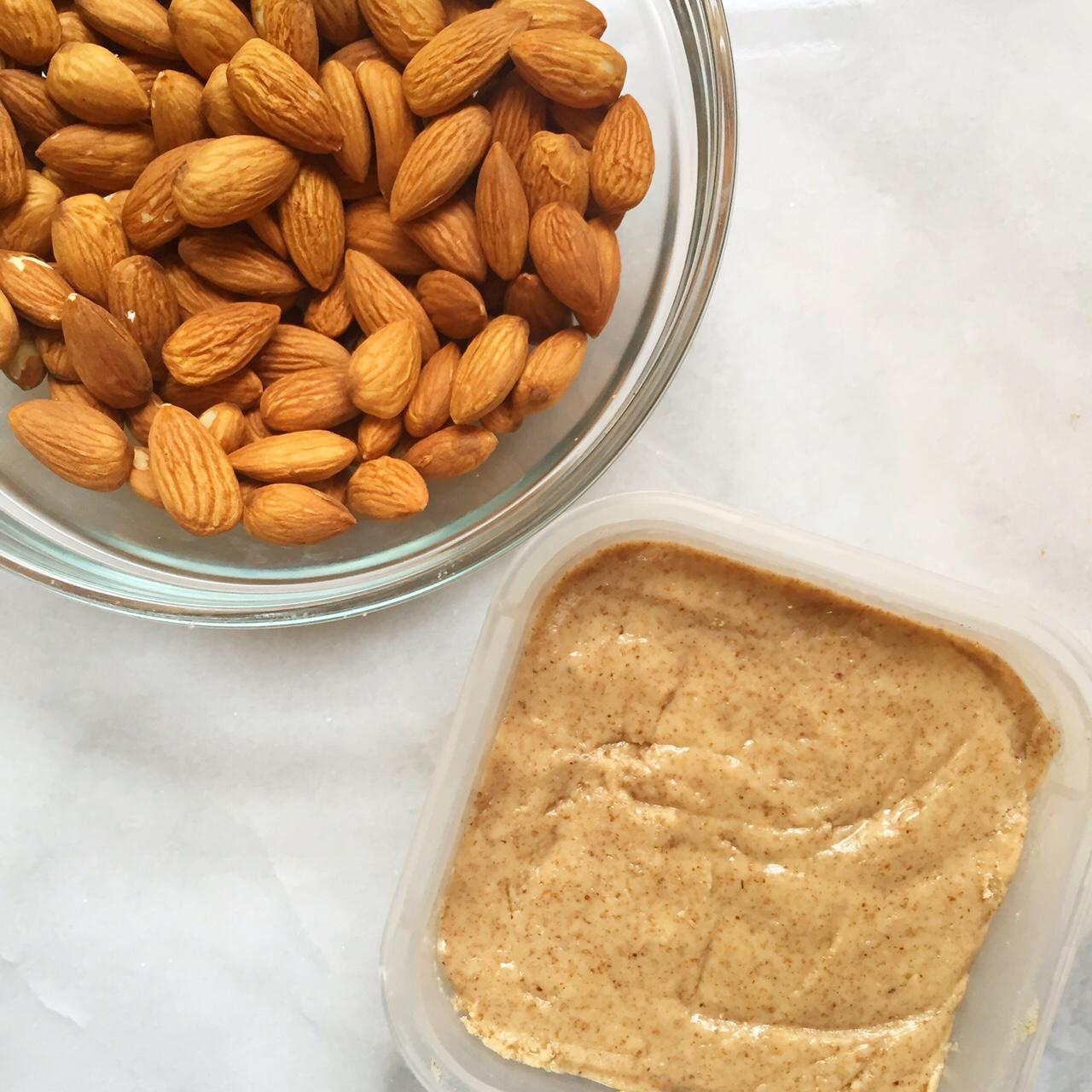 Homemade Almond Butter | Four Threads www.thefourthreads.com