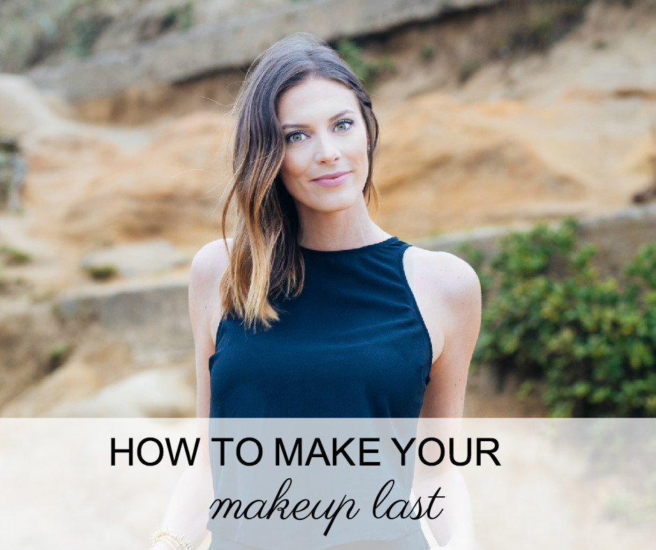 4 tricks to help your makeup last all day long