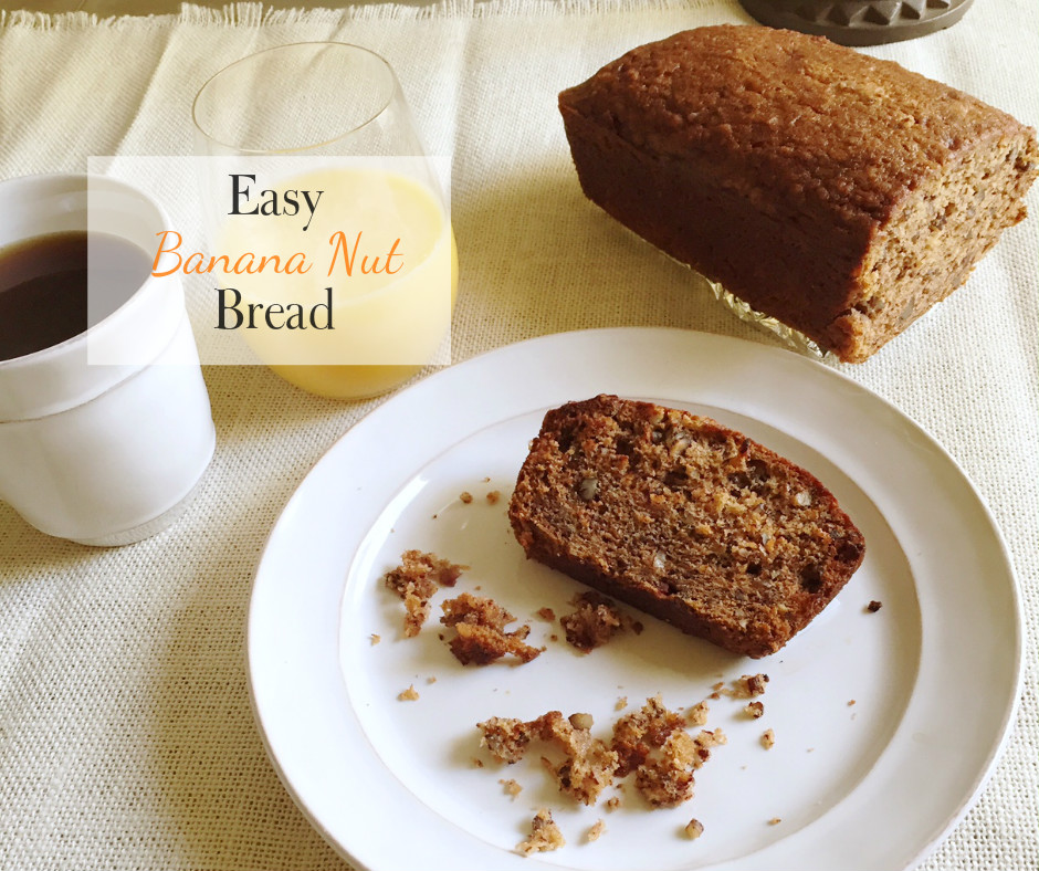 Super-moist and incredibly indulgent banana nut bread. total crowd pleaser. via @fourthreads // Four Threads