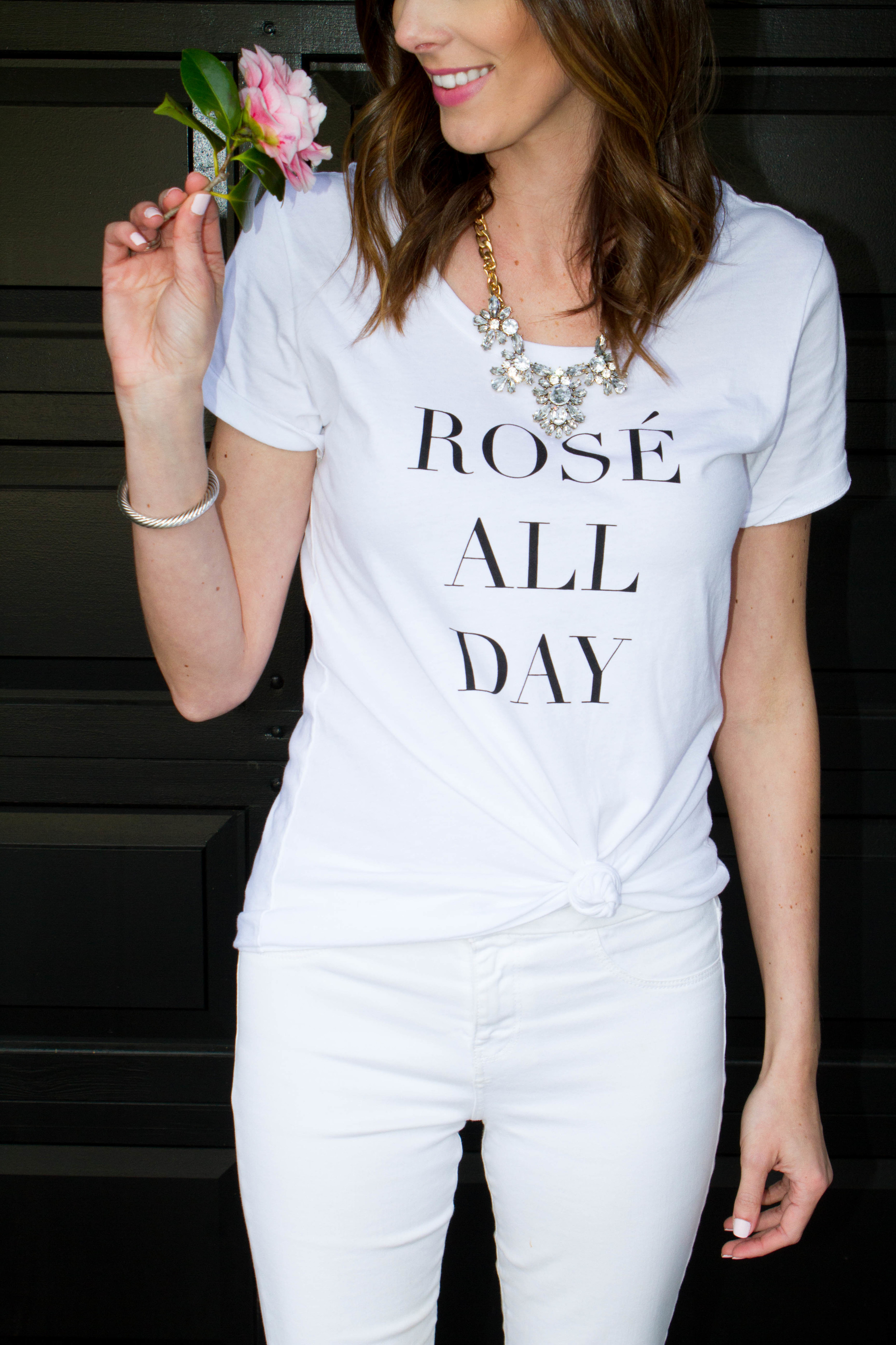 Rosé All Day T-shirt | Perfect for day drinking, brunching or lounging around
