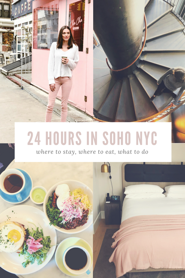 24 Hours in SOHO NYC