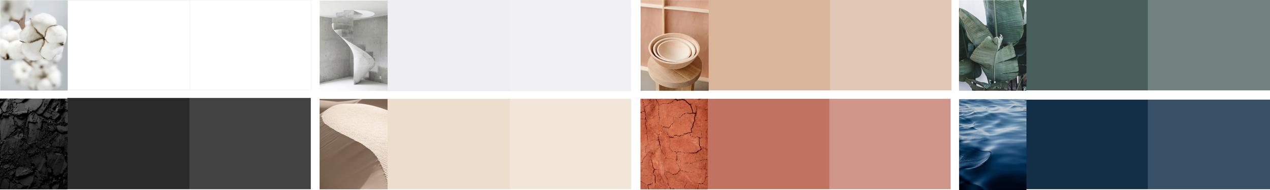 colour palette; myri studi; myriam rigaud; colour trend 2019; multidisciplinary design