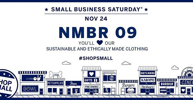 "#smallbusinesssaturday  From now until Monday use code ""SHOPSMALL"" at checkout for 25% off of your entire order.  Big thank you to everyone who has supported our growth this year! Let's continue to pour into our local businesses and small shops during this holiday season and show love to our favorite brands!  @shopsmall @americanexpress  #shopsmall #sustainablefashion #ethicallymade #smallbizsat #amex #naturalfibers #handmadewithlove"