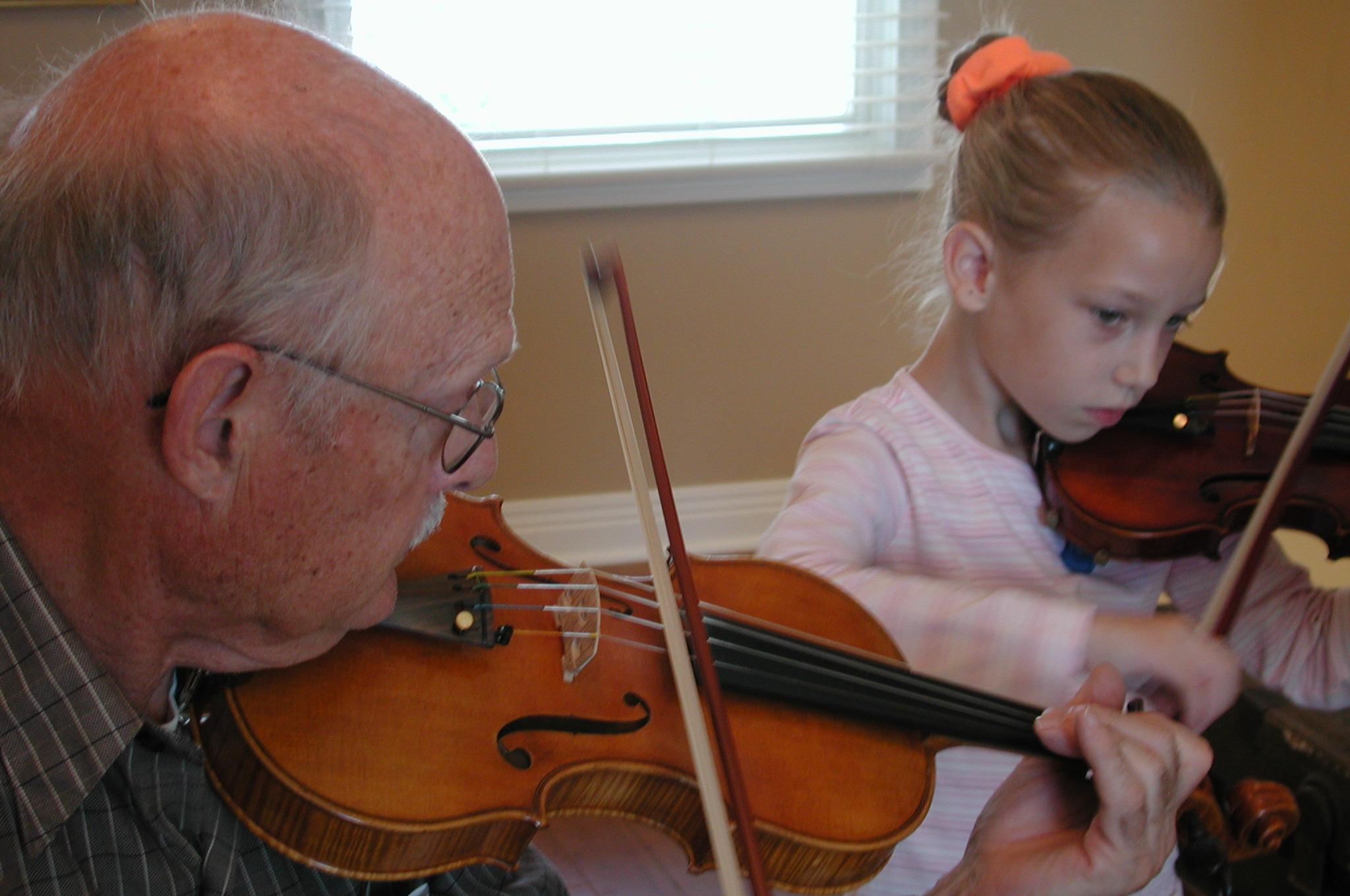 violin teacher