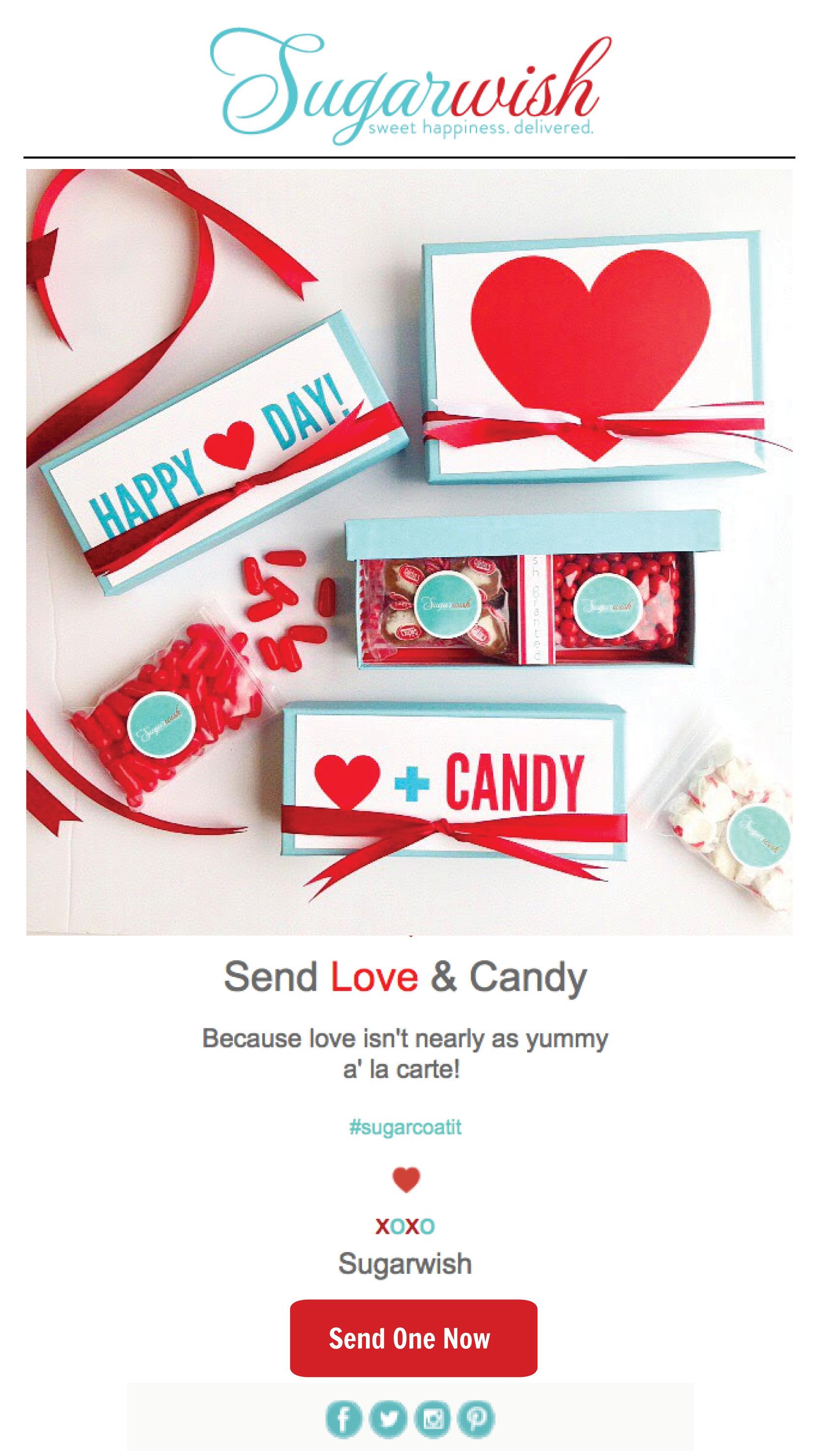 Sugarwish email