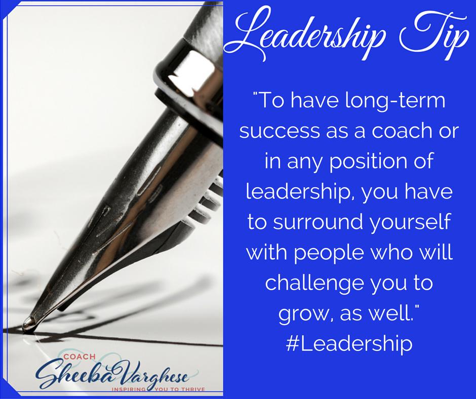 Leadership Tip!