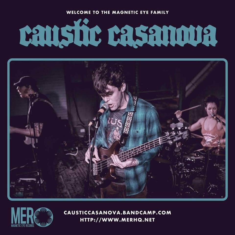 Caustic Casanova Signs With Magnetic Eye Records Artist Roster