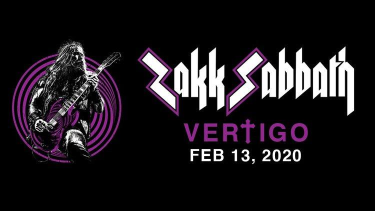 Zakk Sabbath Tour 2020 Zakk Sabbath   Vertigo (PREORDER   LIMITED EDITION BUNDLE 500