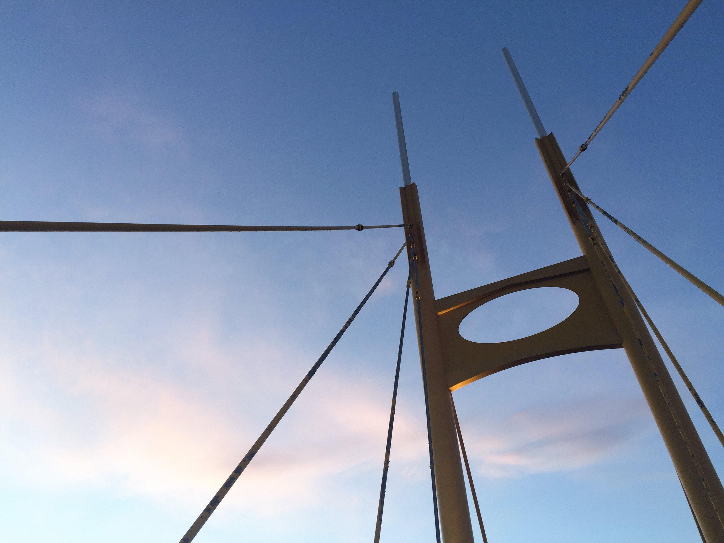 Kamloops Yellow Pedestrian Bridge