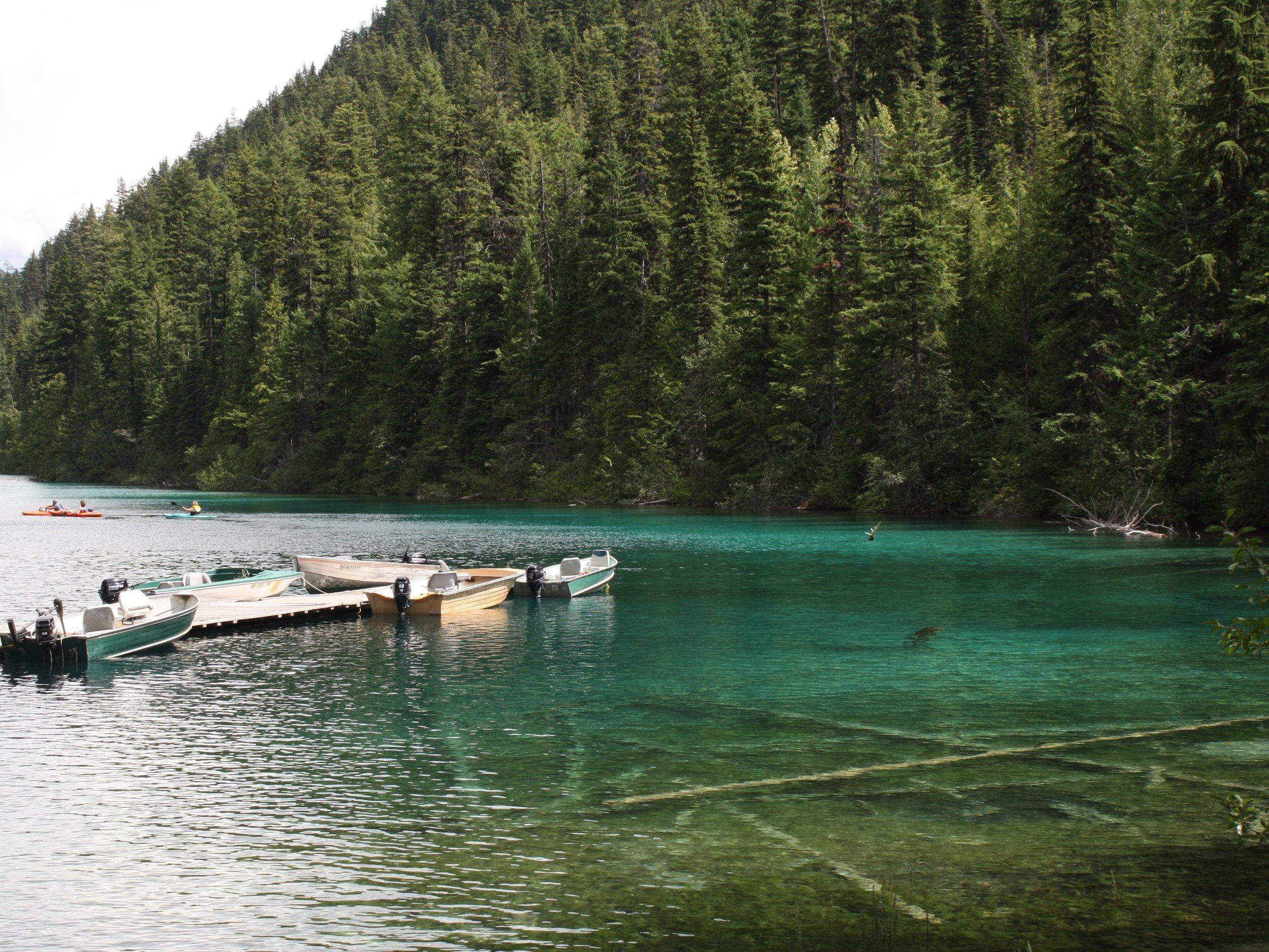 Johnson Lake Resort,  Thompson-Nicola