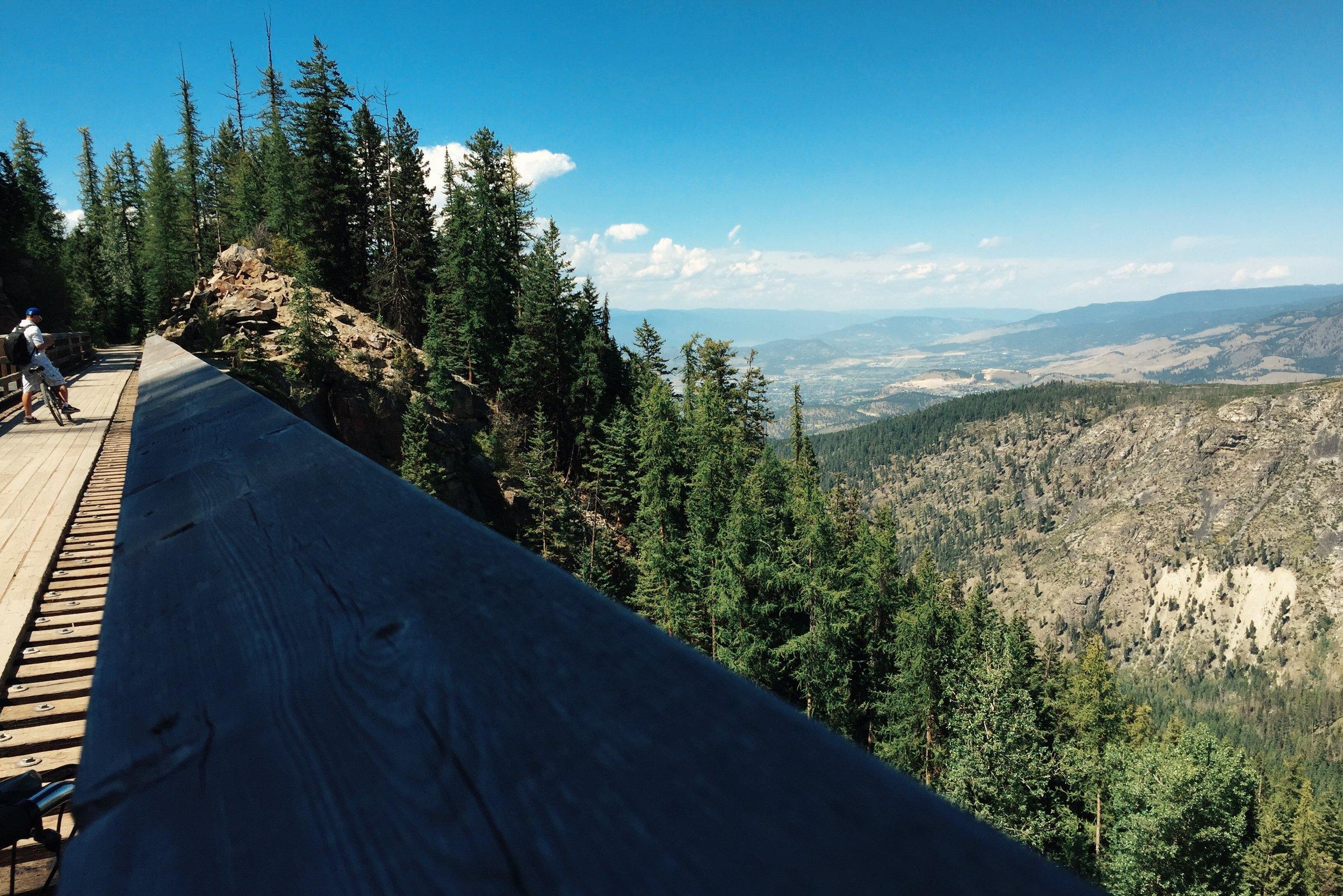 Myra/ Kettle Valley Trestle Trail