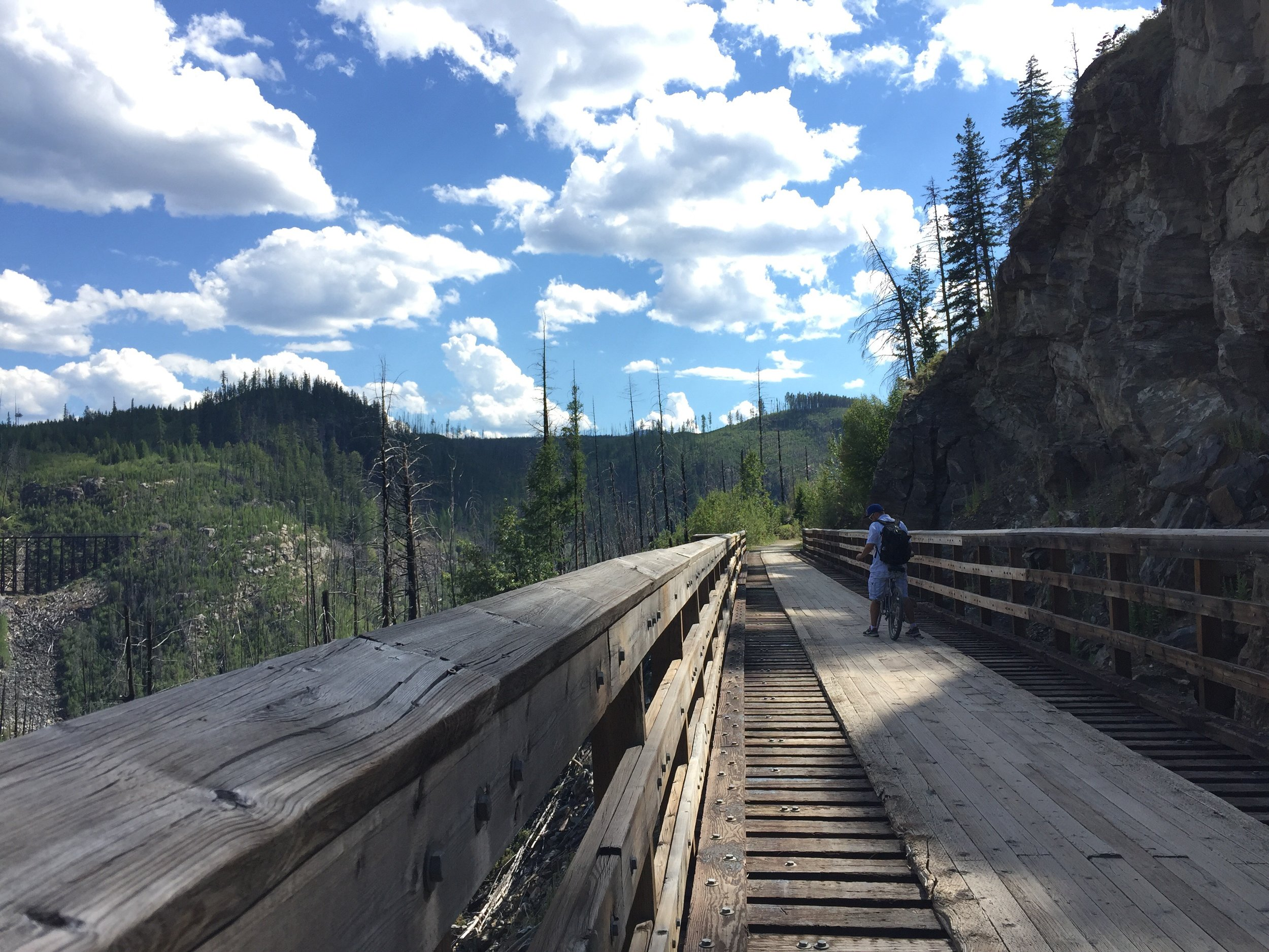 Myra/ Kettle Valley Trestle Trail