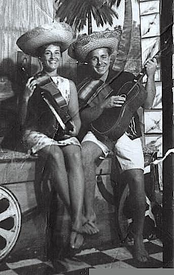 Frank and Toni's Honeymoom