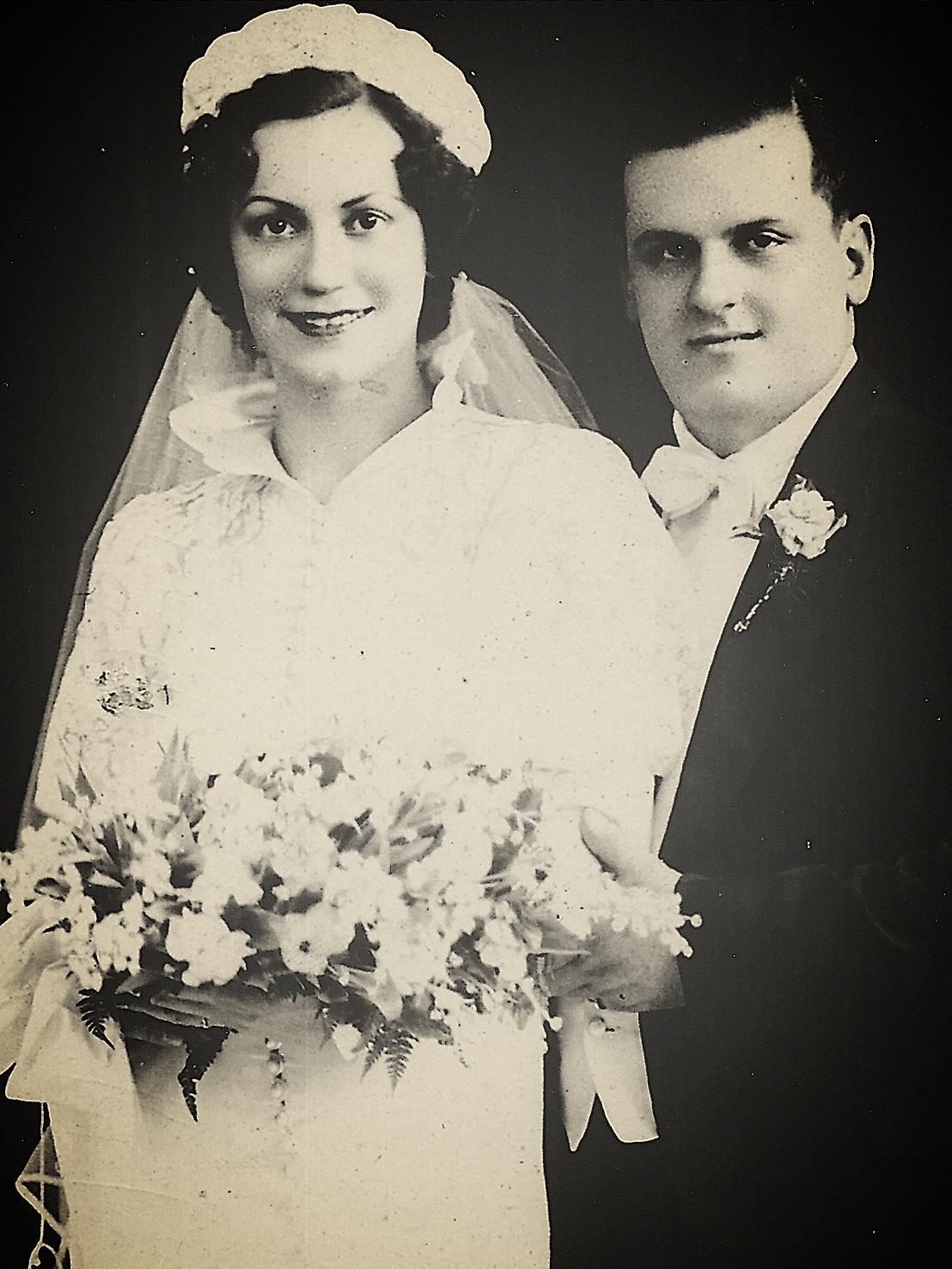Gramma Josephine + Grampa Ben