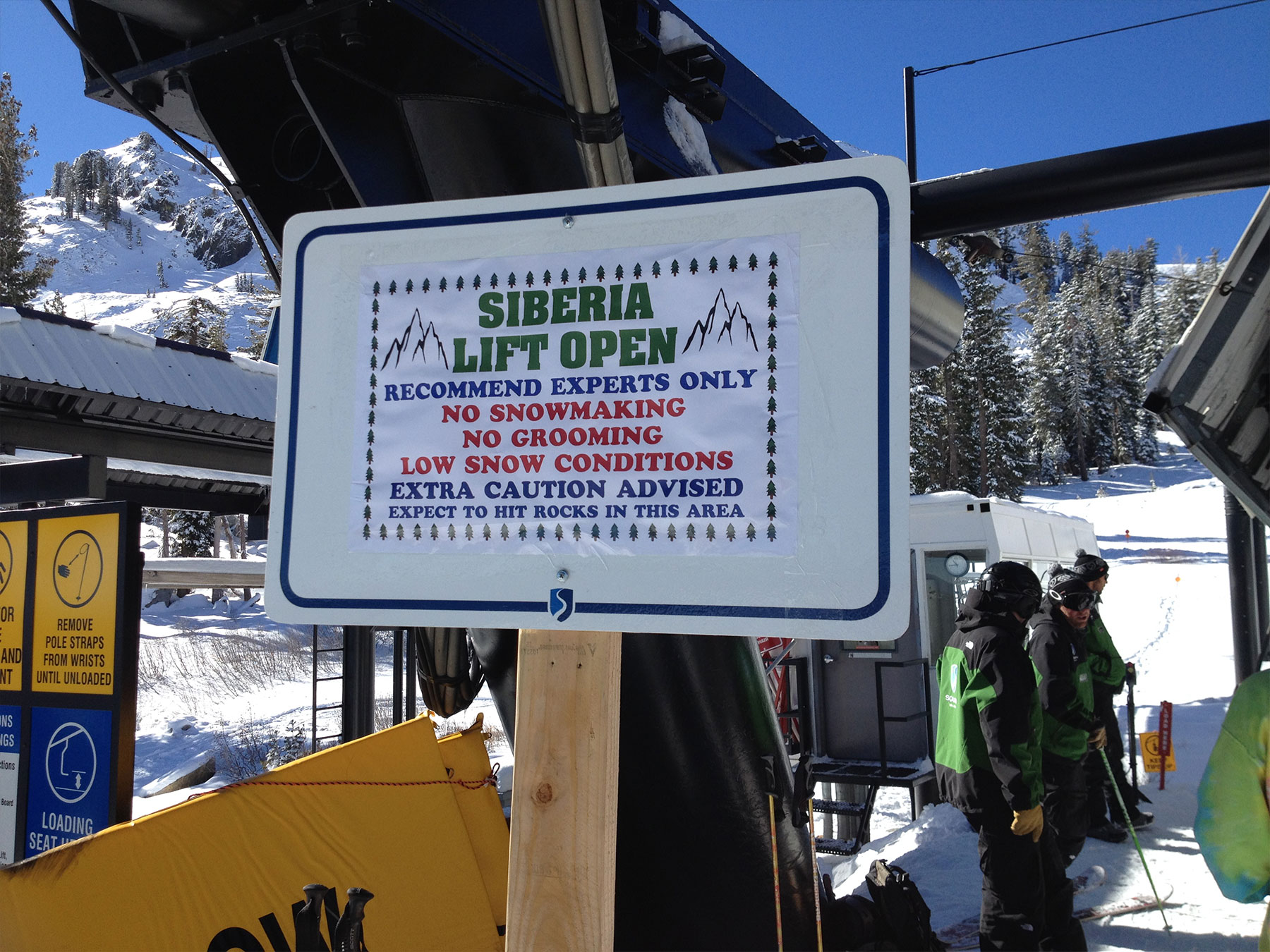 Squaw Valley on February 1st