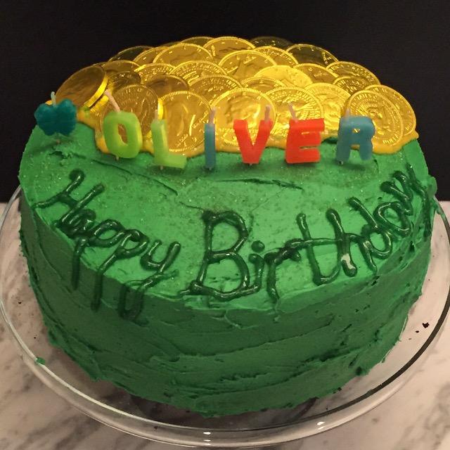 Ol's Pot of Gold cake