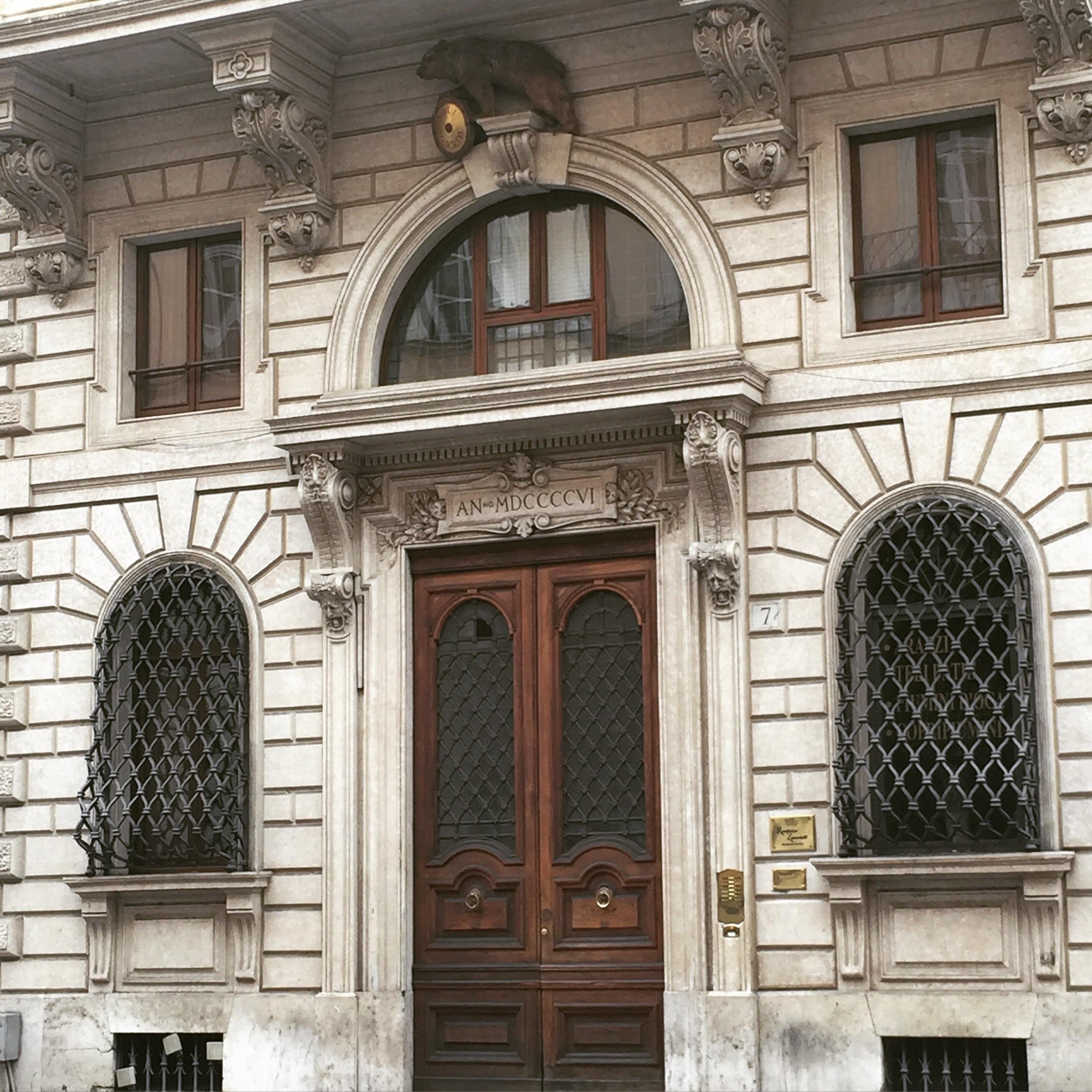 a stunning doorway
