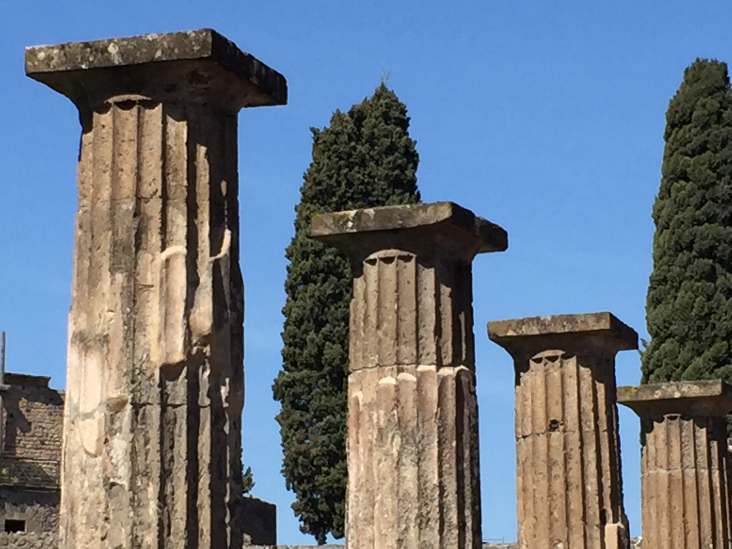 Pompeii, near the entrance.