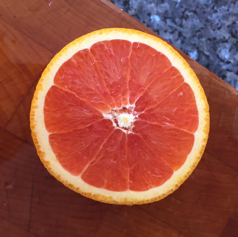 a Cara Cara orange