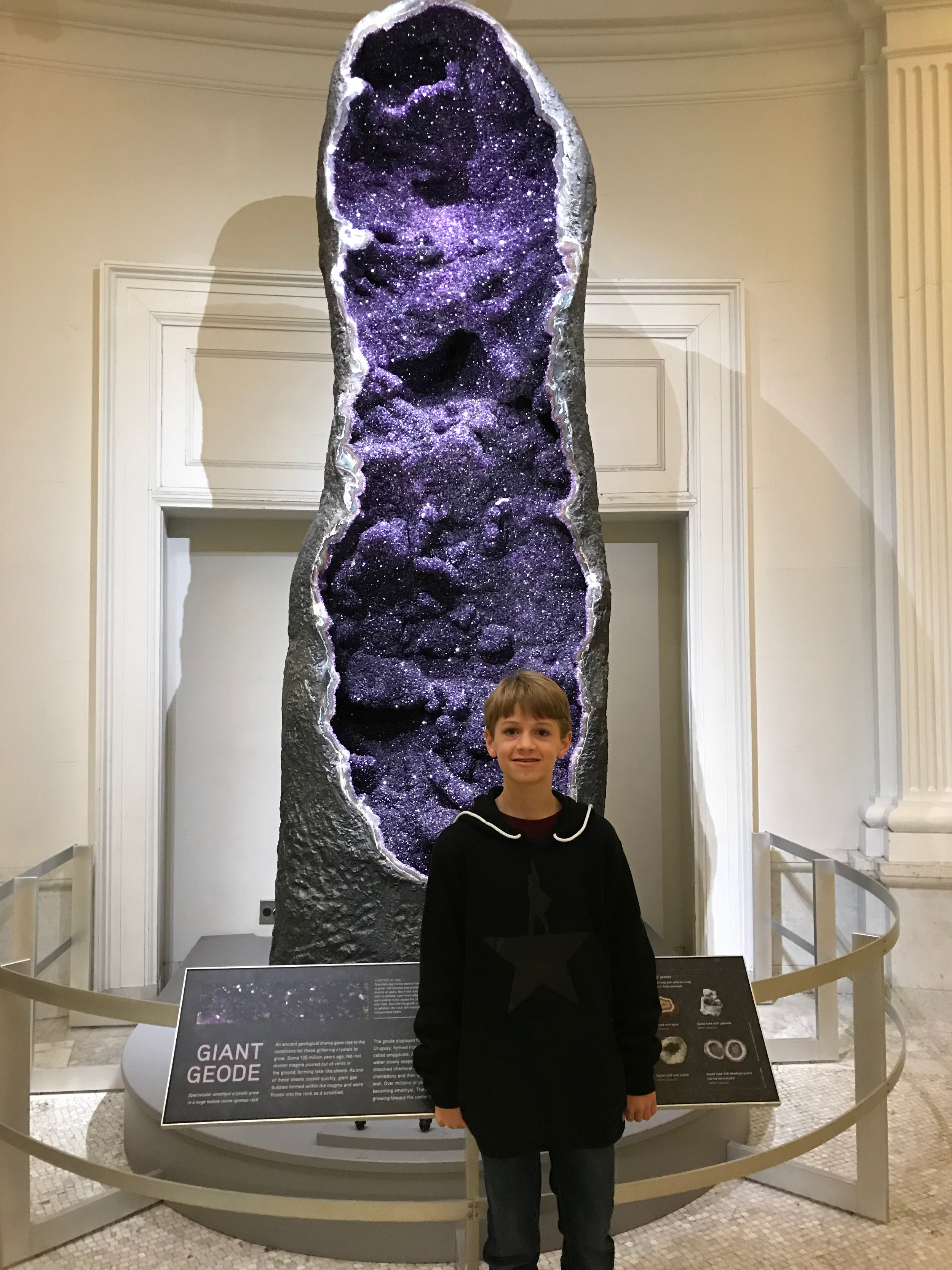a big-ass geode