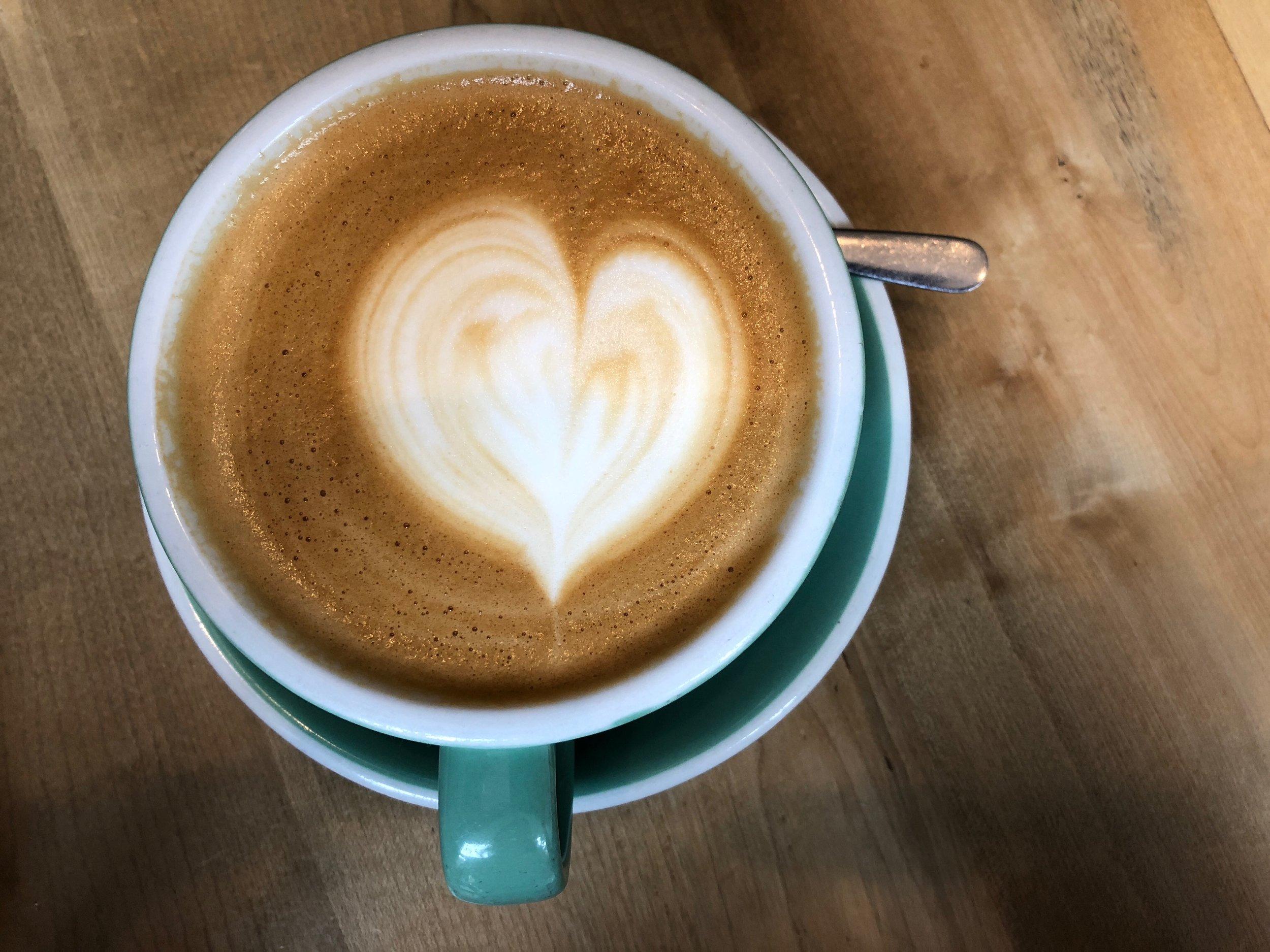 latte at Bard