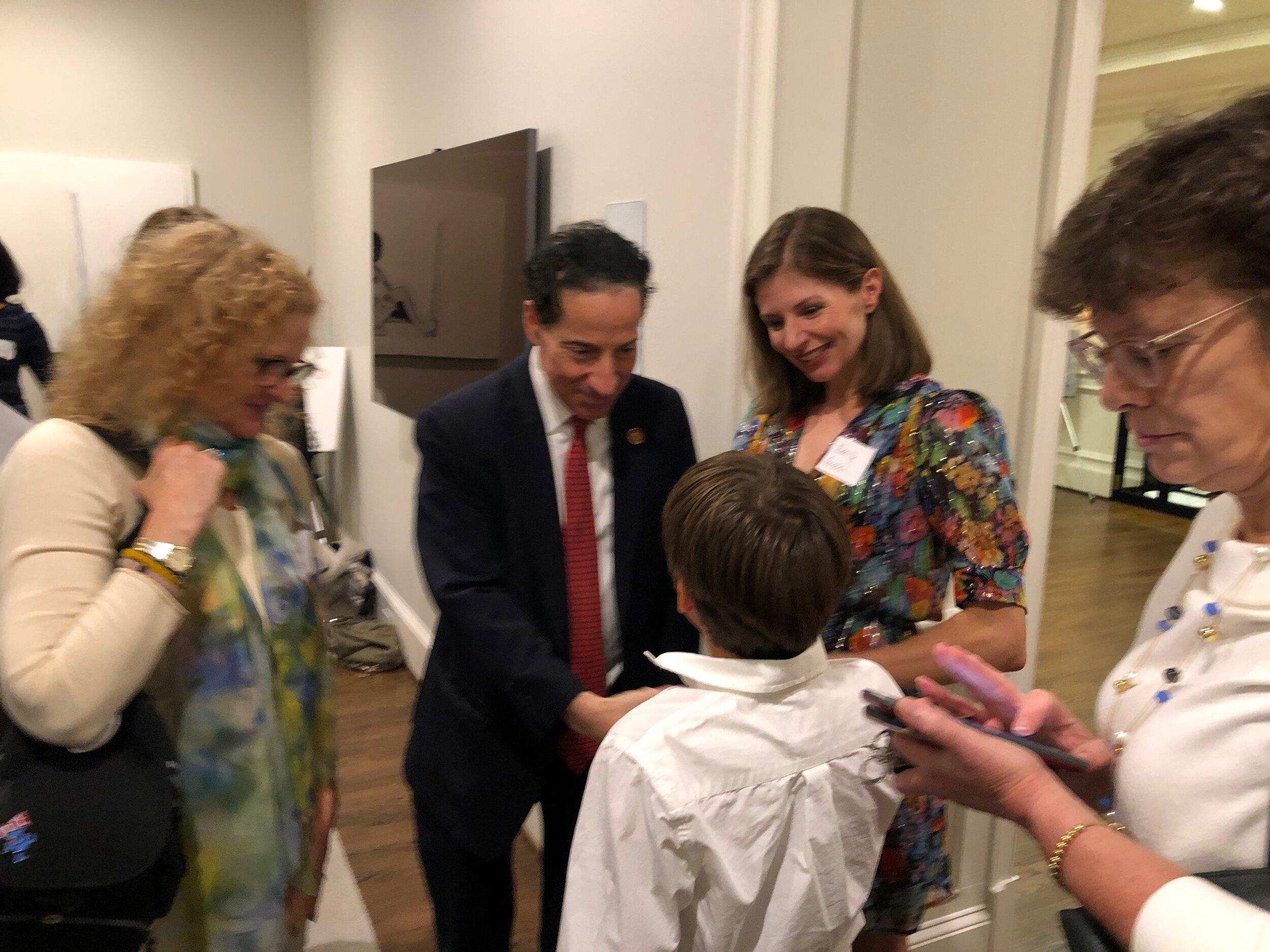 Ol loved meeting Rep Raskin too!