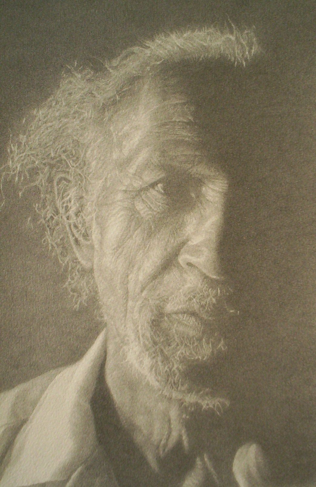 """Roland""    2009 Pencil on wove paper   11 x 16 inches   © Richard Wyatt Jr."