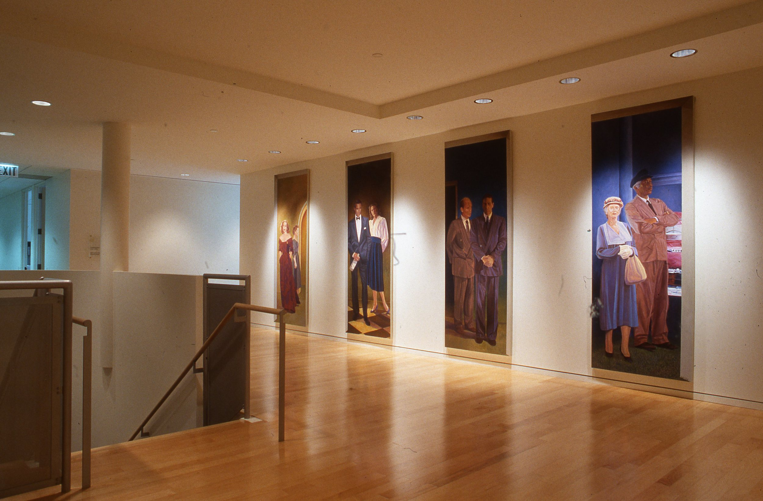 """Screen Actors Guild Interior Mural"", Located at lobby entrance    1993   © Richard Wyatt Jr."