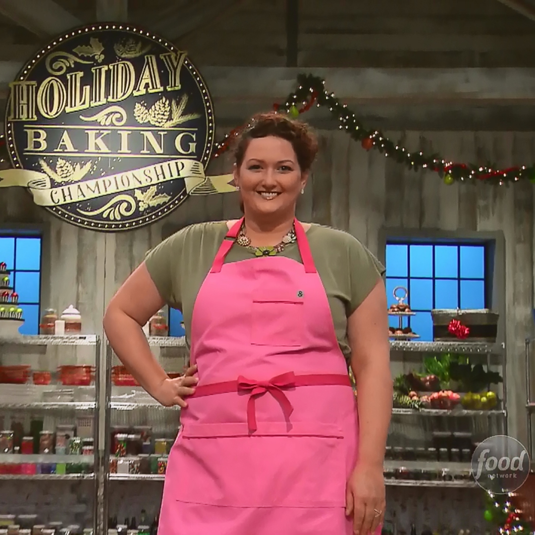 Jen Barney is the Champion of Season 4 Holiday Baking Championship