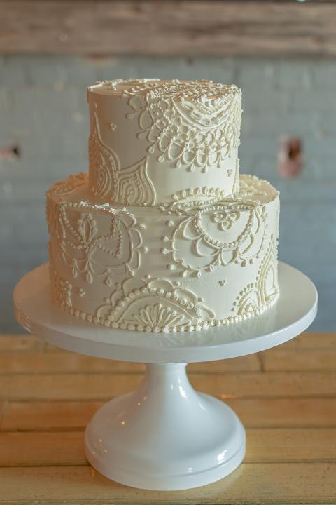 Henna Inspired Cake