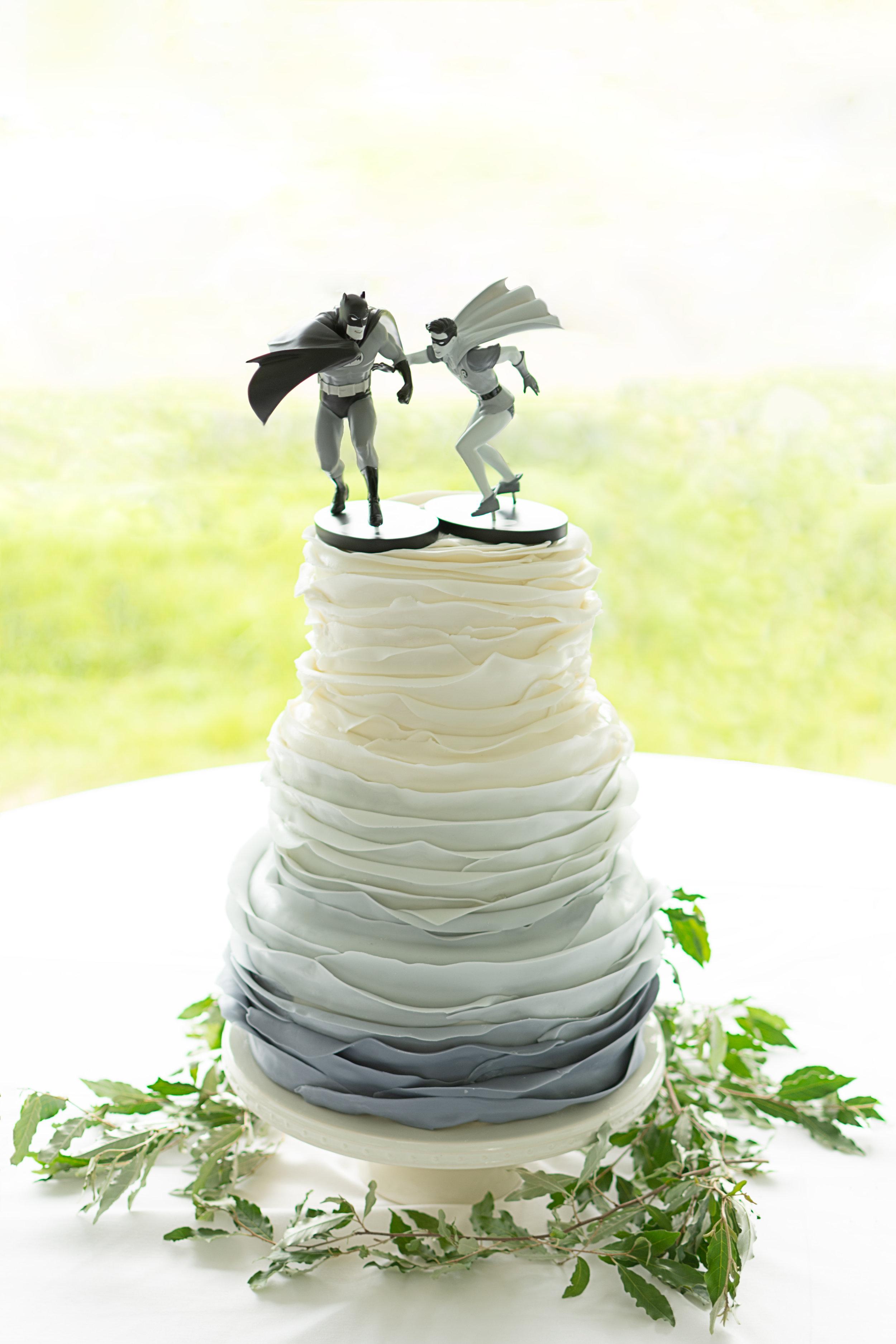 Grey Ombre Cake