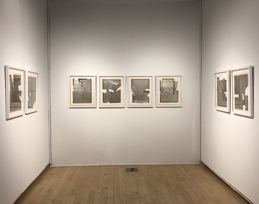 2019, Edo-Papers 31-38, Connecticut Fellowship Winners exhibition, Hans Weiss Newspace Gallery, Manchester Community College, Manchester, CT