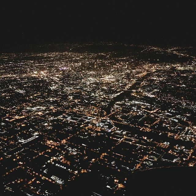 Currently in and loving NYC but missing LA 😢 (this pic is of the hollywood hills❤)