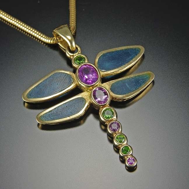 Dragonfly-18K,Enamel,Garnets,Sapphires.jpg