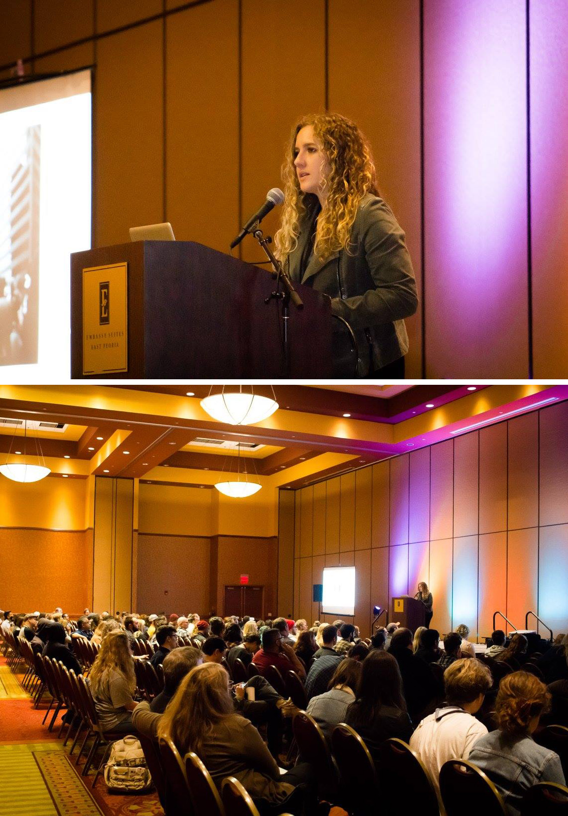 A few photos from my recent talk at the Midwest Society for Photographic Education Conference. This years theme was Developing Spaces/Places, perfect fit for my work. Big thanks to Jason Reblando and Margaret LeJeune for putting on a great conference.