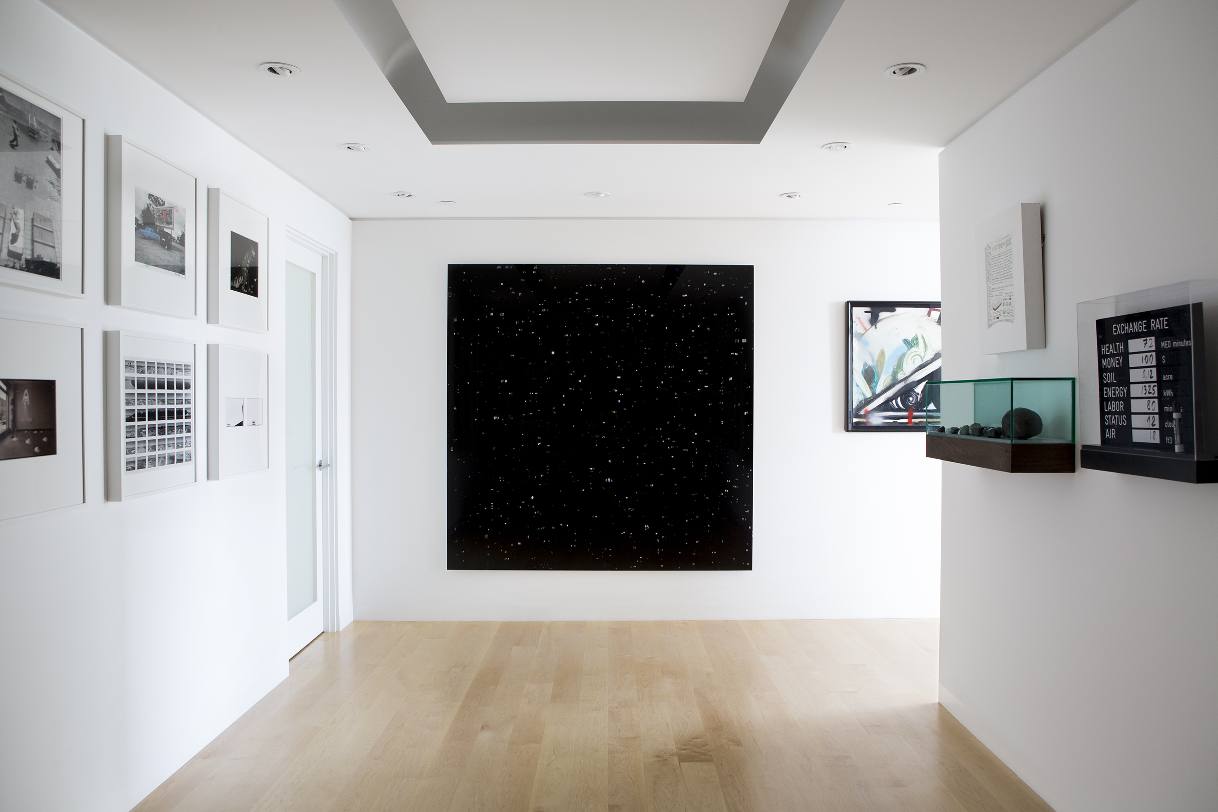 """72x72"""" Stray Light piece for a private collector."""