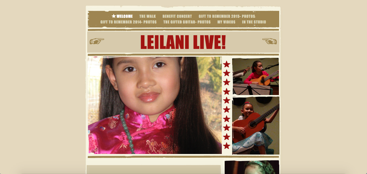 Leilani Live (Old Homepage)