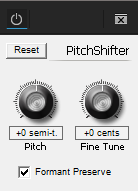 Adobe Premiere CC 2015.3 Pitch Shifter