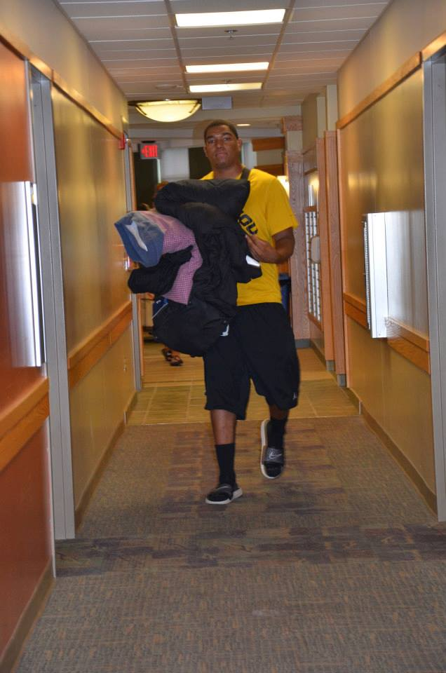 Rickey Hatley Checking in for Fall Camp.jpg