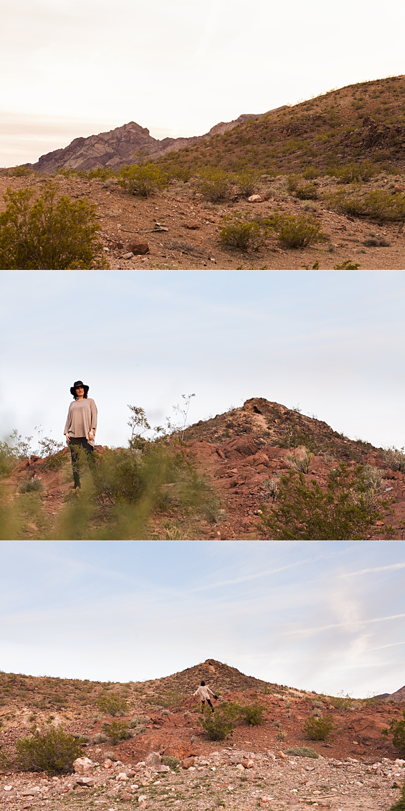 sunset portraits in the las vegas desert