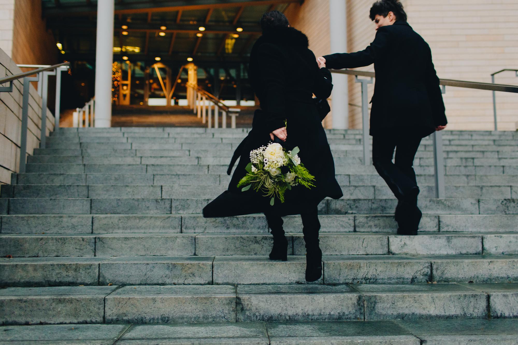 Seattle Courthouse Wedding Photos