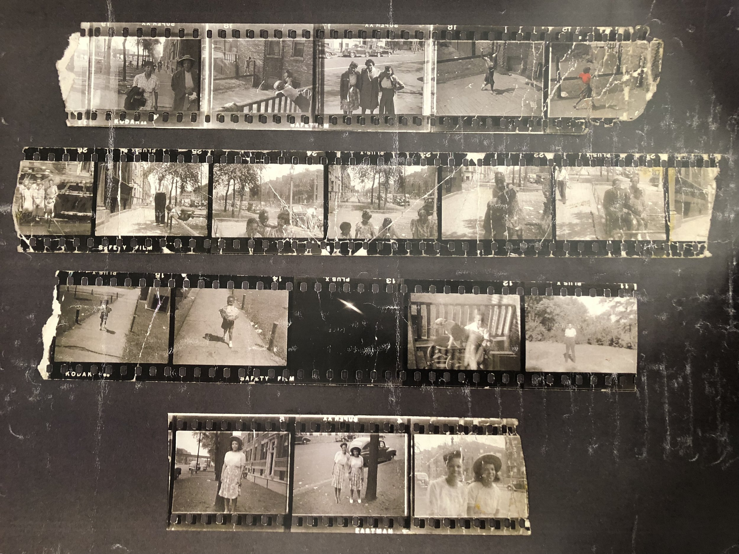 Above: Looking through some images from my paternal grandpa's family archives from his upbringing in Chicago.