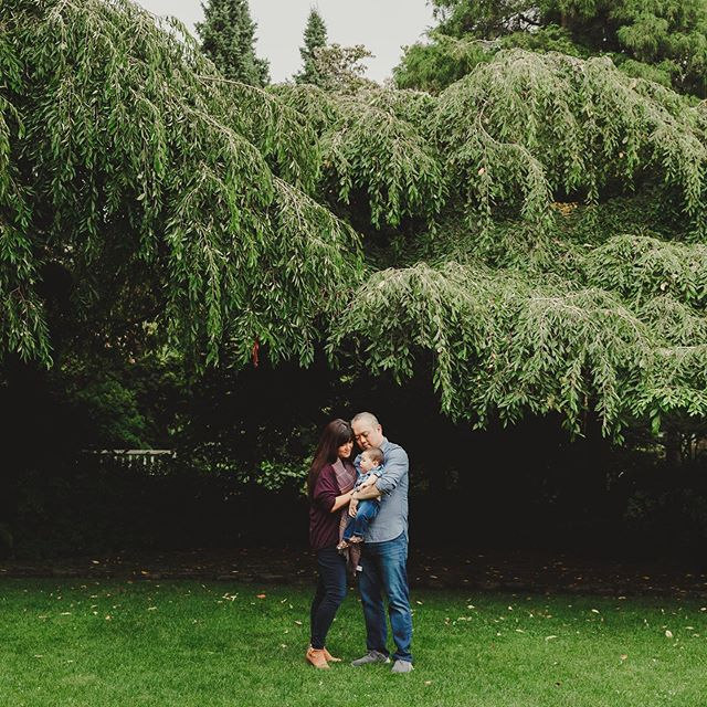 I photographed their wedding two years ago (yay!) and then they moved away (boo!) but then they came back to visit and I got to snuggle their cuuute baby (yay!) so it's all good. . #seattlefamilyphotographer #seattlefamily #seattle #apairoftongs