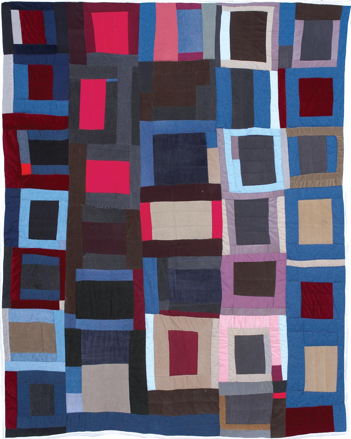 BLOCKS QUILT by Annie Mae Young, 2003.  General Acquisition Fund.