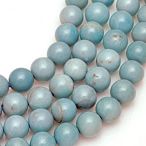 Contemporary amazonite beads. Cas Webber