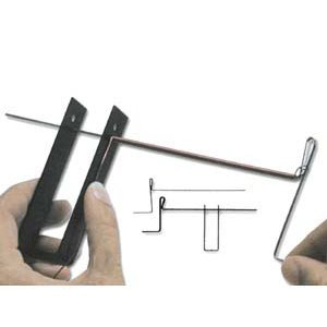 Coiling Gizmo, a tool for making coiled wire beads. CW