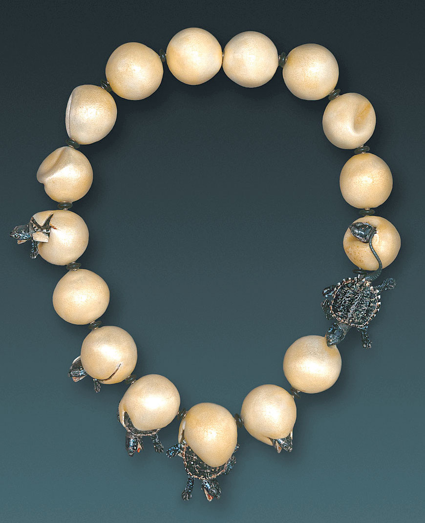 Silver Strand Beaded Necklace To Be Highly Praised And Appreciated By The Consuming Public Jewelry & Watches