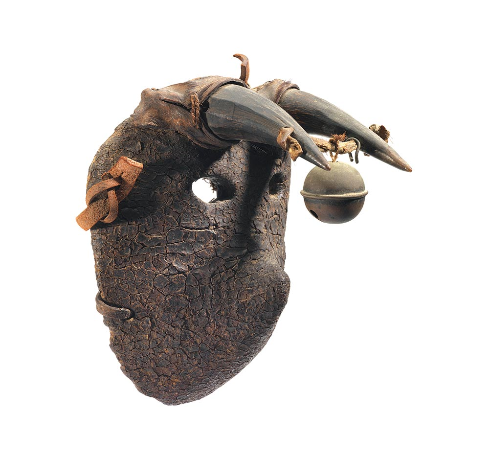 THE FOWLER MUSEUM AT UCLA:  Bull Mask.