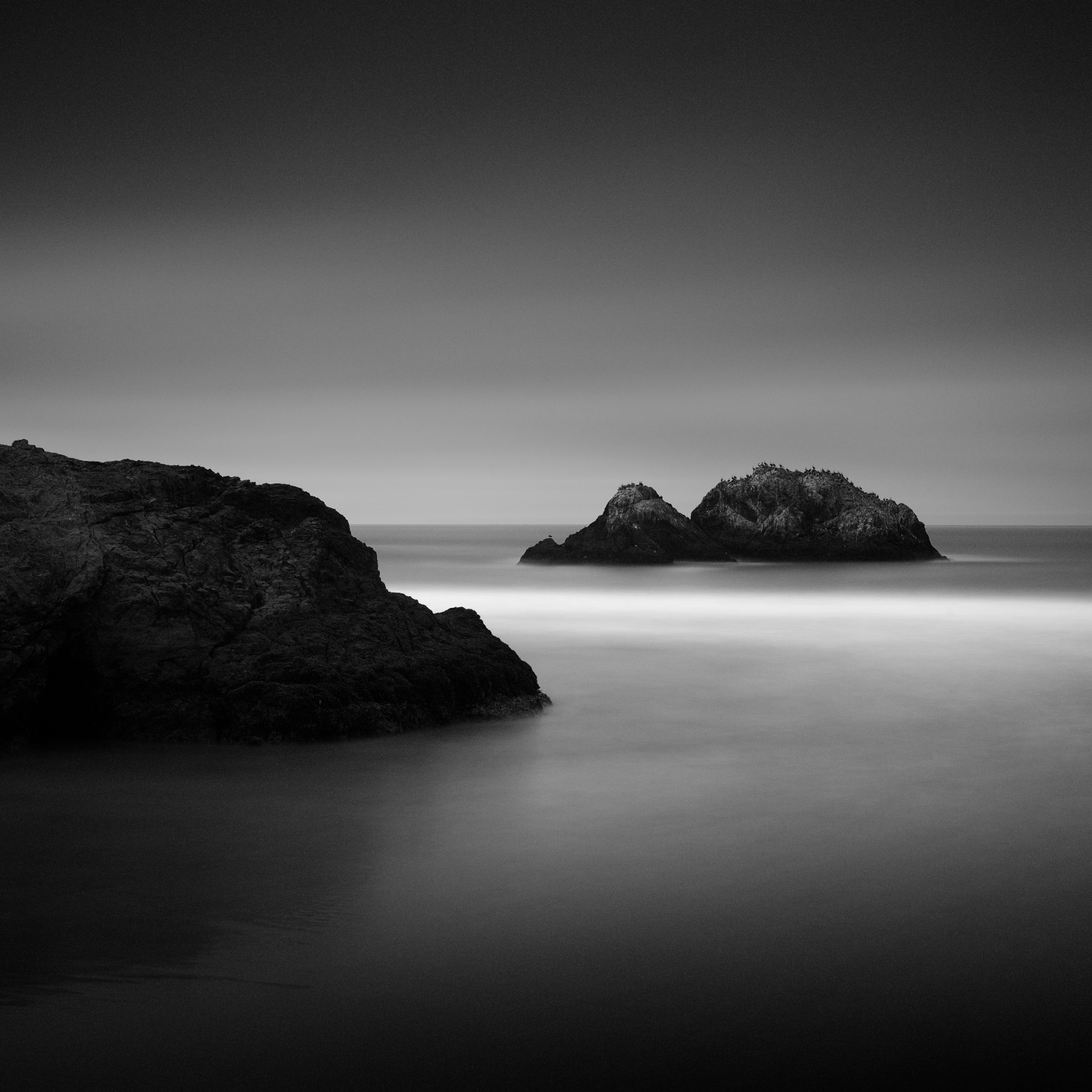 The Seal Rocks, shot from Sutro Baths, in San Francisco, USA.